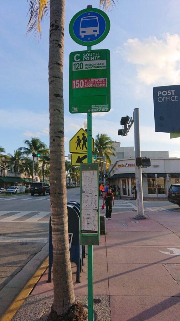 マイアミバス停