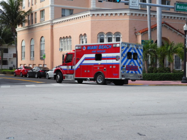 マイアミ消防車