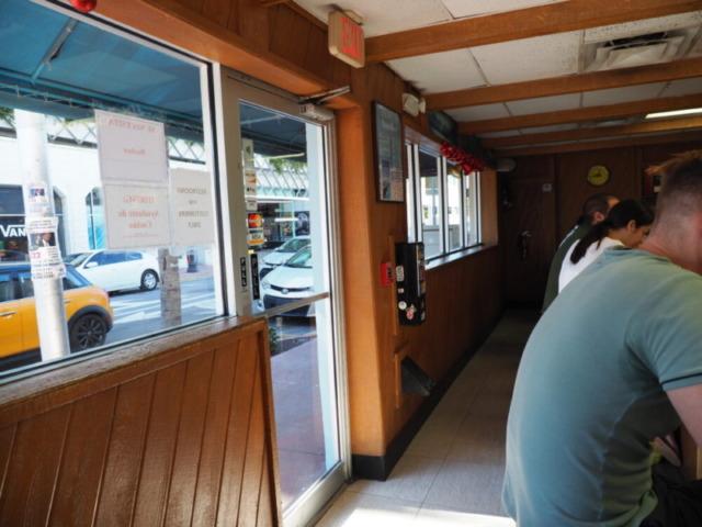 Puerto Sagua Restaurantカウンター席