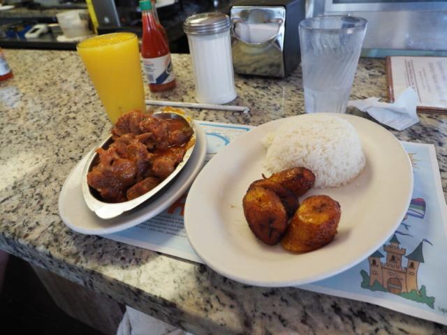 Puerto Sagua Restaurant注文した料理