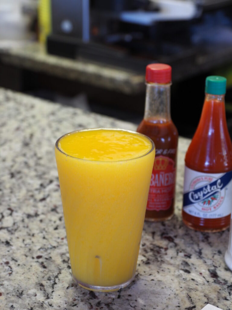 Puerto Sagua Restaurant注文したジュース