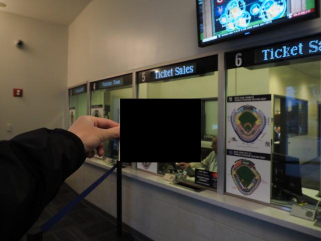 ヤンキース戦チケット
