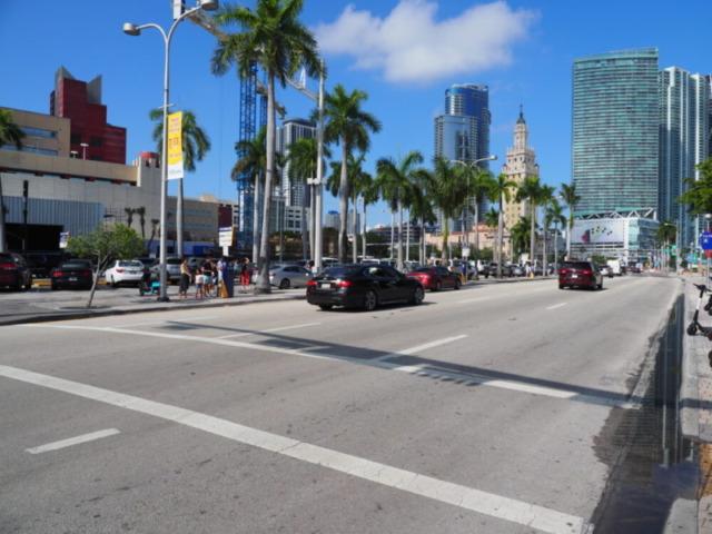 マイアミ街の風景