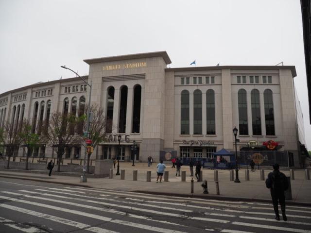 161 Street Yankee Stadium Stationから見える風景