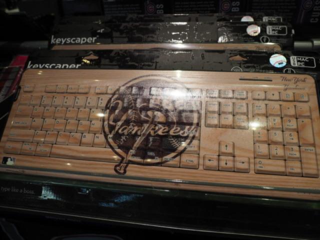 ヤンキースのキーボード