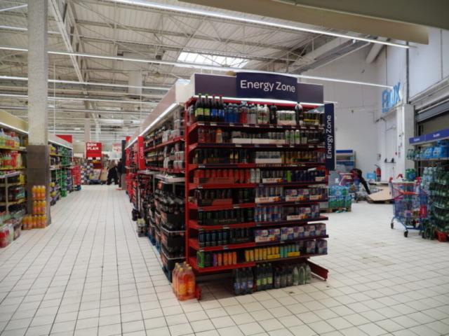 海外の大きなスーパーマーケット