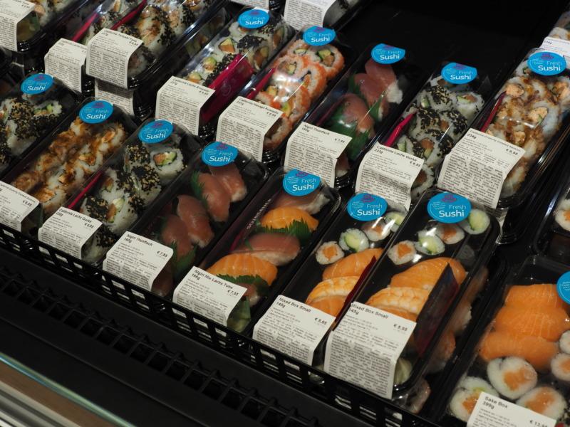 ドイツで見つけた寿司