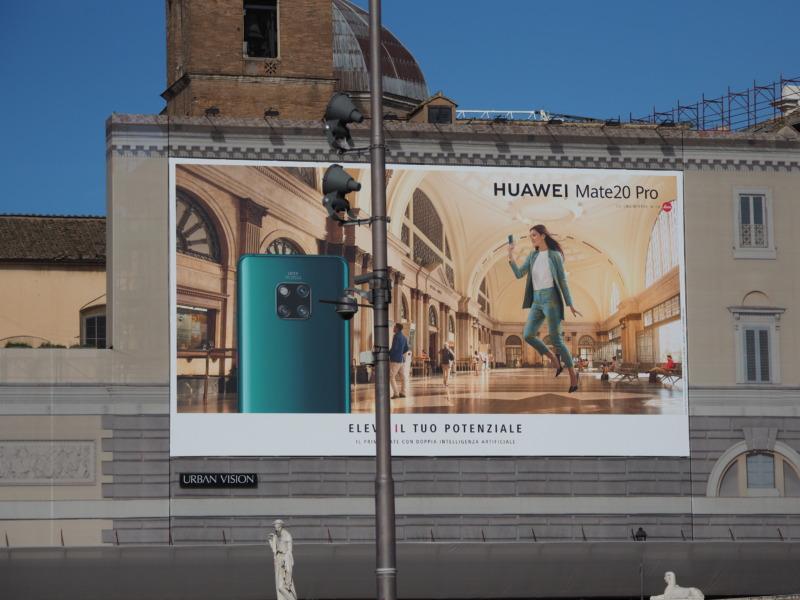 Huaweiの広告